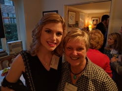 Ms. Haley with Dr. Donna Brink Fox (Eastman School of Music)