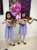 Catherine & Lizzie perform at the Sugar Land Art Center & Gallery