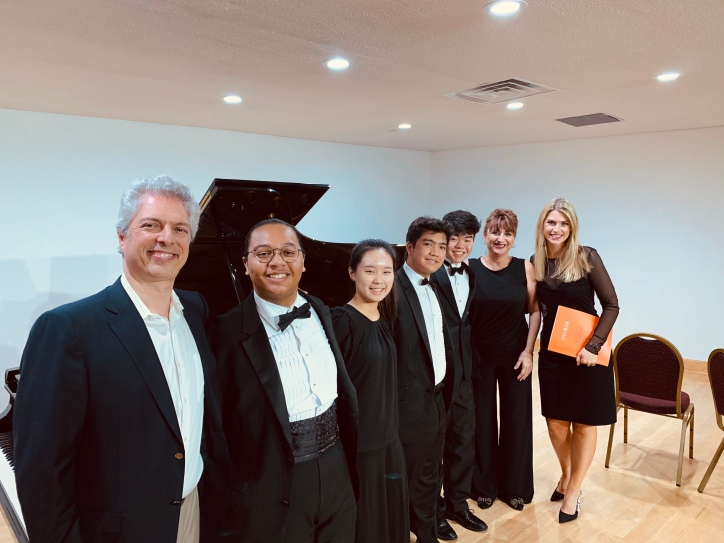 Thanks to Virtuosi of Houston, Gary Levinson, Baya Kakouberi, and Kawai Pianos for a fabulous weekend of Dvorak!