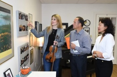 So much fun to work with Jerry, Kevin, and Maggie from Applause to the Musician